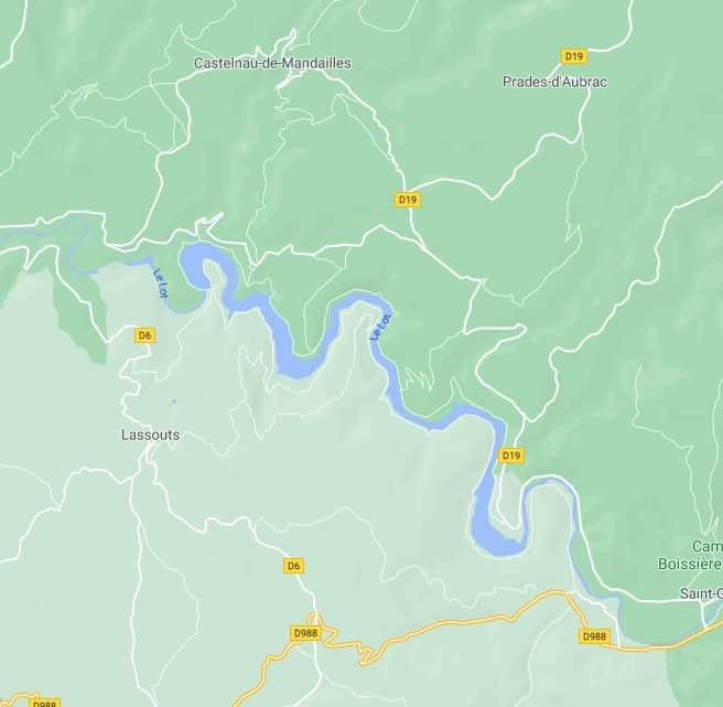 cabanac google map