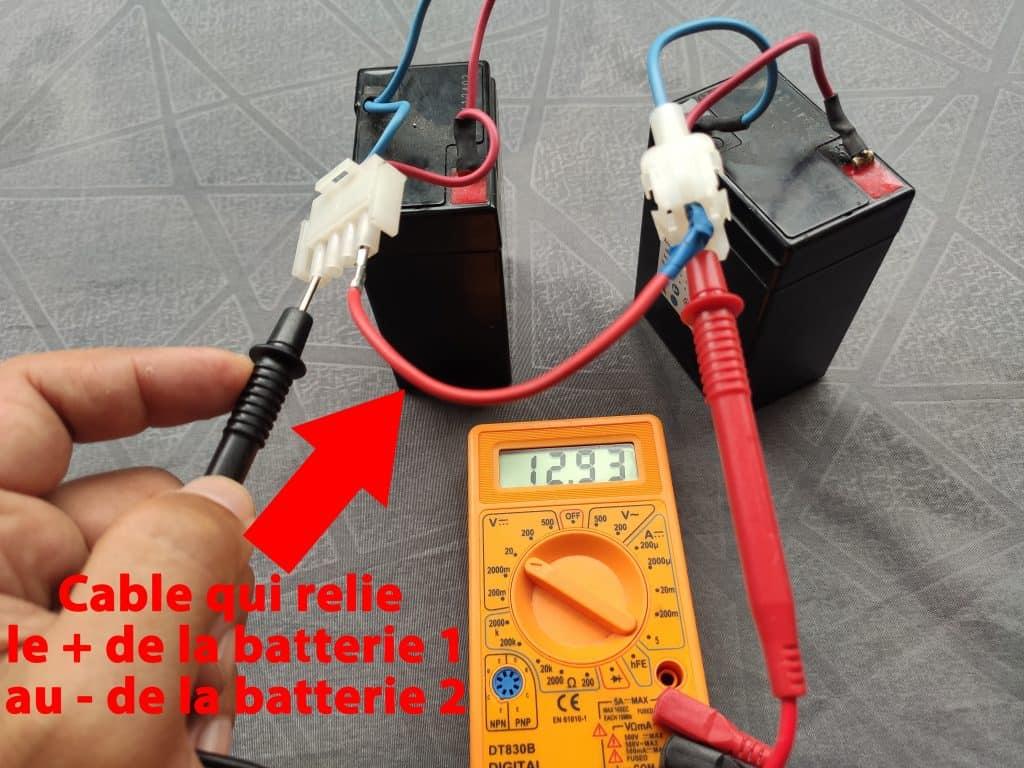 batterie en série 12 volts